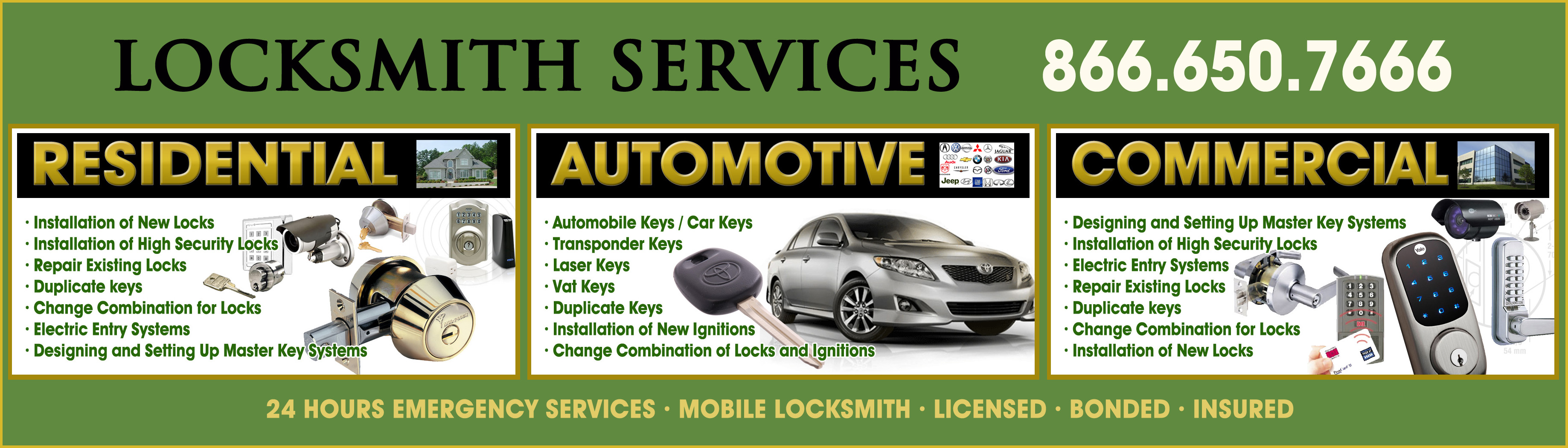 Locksmith service in West Hollywood